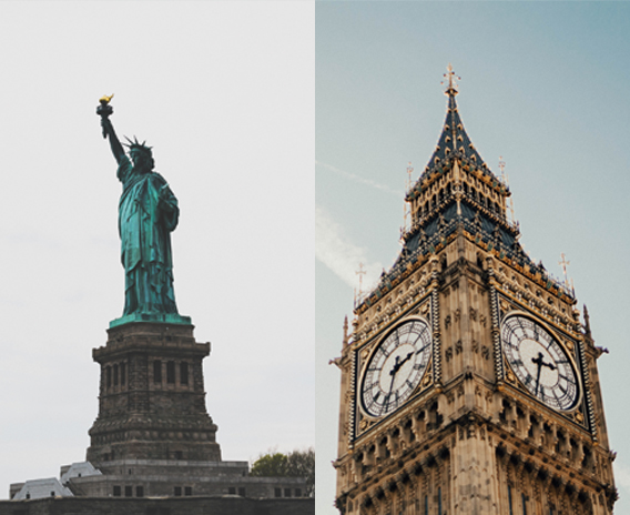 Nueva York y Londres ¿qué visitar?
